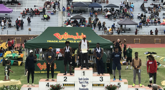 Gallon Finishes 2nd at Track & Field Championships