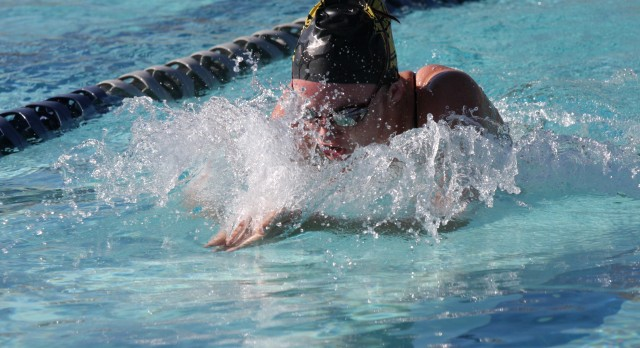 Verrado High School Girls Varsity Swimming beat Cactus High School 157-28