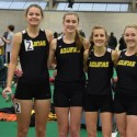 Lady Knights Indoor Track Meet 01-17-16