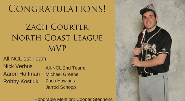 Zach Courter Named NCL MVP!