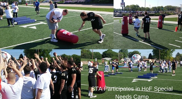 STA Participates in HOF Camp