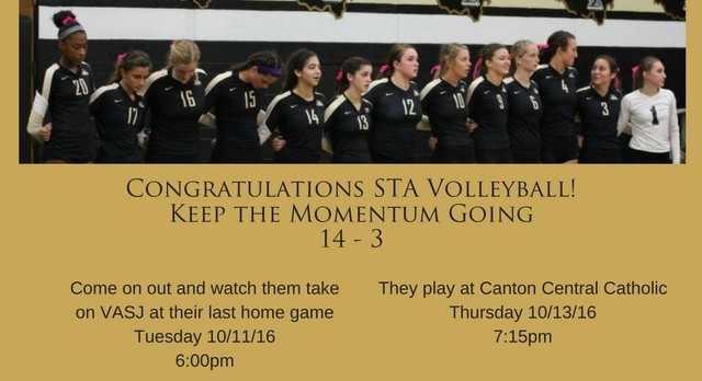 A Great Season for STA Volleyball
