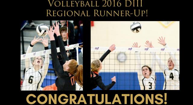 Volleyball – Regional Runner-Up!