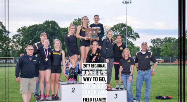 Lady Knights Track Regional Runner-Up!