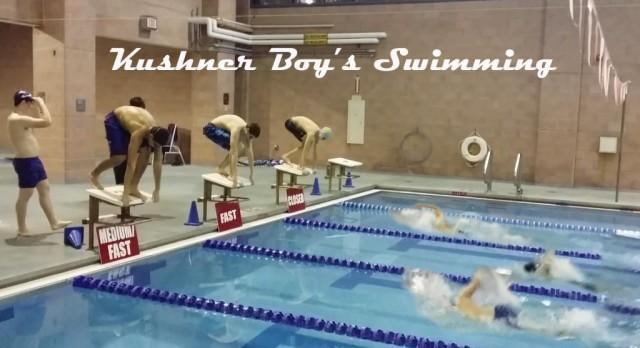 Kushner Boy's Swimming is in Full Swing