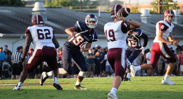 Houser brings new style of play to Bearden quarterback position