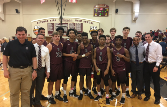 Bearden runs past Science Hill, headed back to state tournament