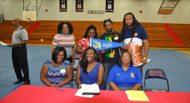 Halsey Signs With Allen University