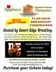 Applebees Flapjack Fundraiser