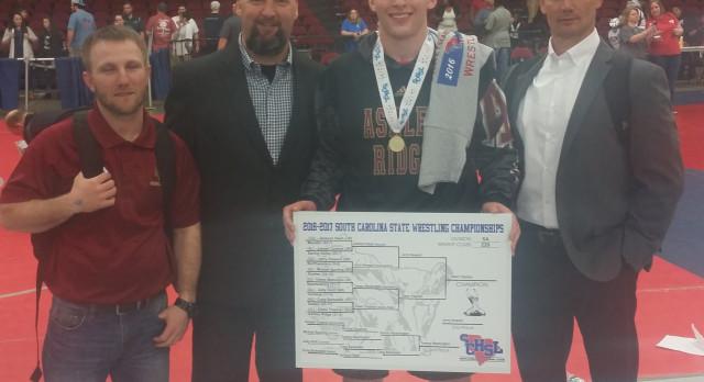 Owen Trephan Wins State Wresting Title!