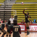 Lady Foxes Vs. Lady Cougars 08-29-17