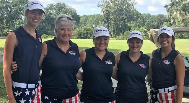 Powdersville High School Girls Varsity Golf finishes 10th place
