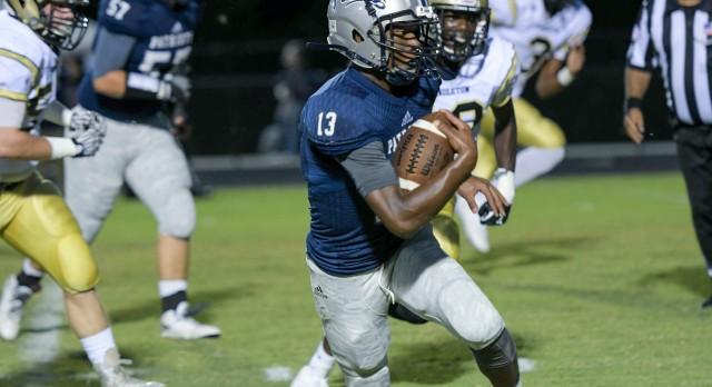 Powdersville High School Varsity Football beat Pendleton High School 37-34