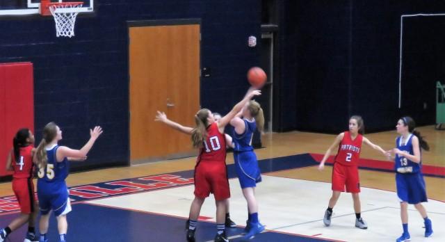 Powdersville High School Girls Junior Varsity Basketball beat Wren High School 30-21