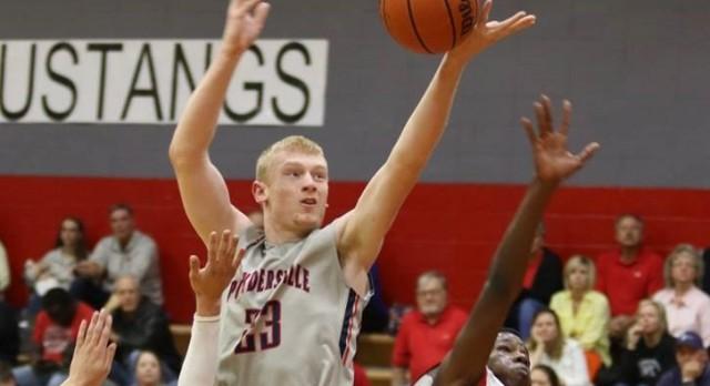 Powdersville High School Boys Varsity Basketball falls to Palmetto High School 55-49