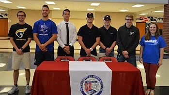 Seven Powdersville High Athletes Sign Letters of Intent with SC Universities and Colleges
