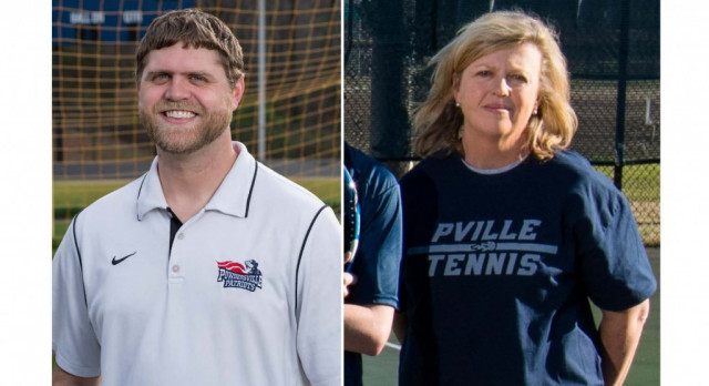 Powdersville's Melton, Troup Named Region Coaches of the Year