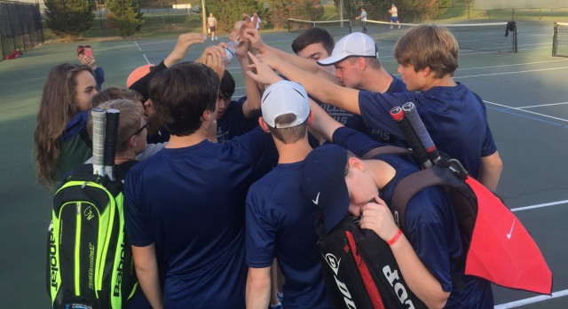 Powdersville High School Boys Varsity Tennis falls to West Oak High School 4-2