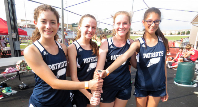 Powdersville High Girls Track Competes at State Meet