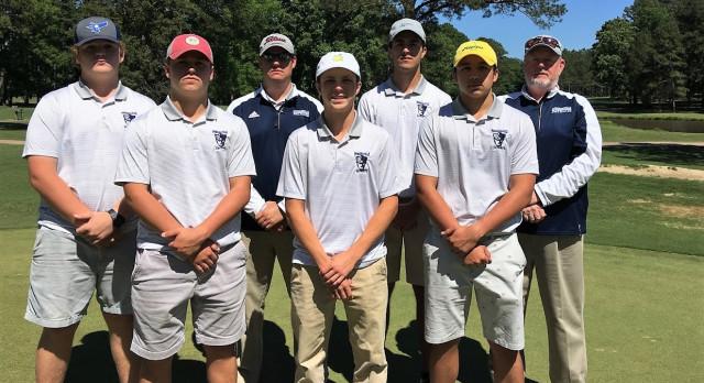Powdersville High School Boys Varsity Golf finishes 5th place
