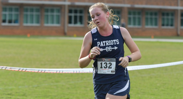 Powdersville High School Girls Varsity Cross Country finishes 2nd place