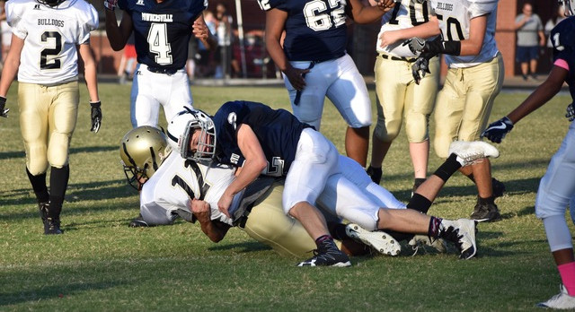 PVMS Football Falls to Riverside Middle 8-0