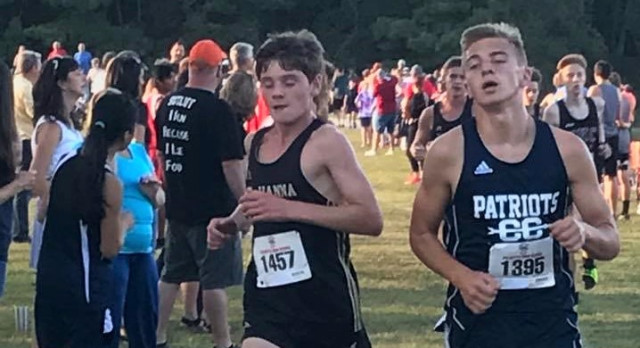 Powdersville High School Boys Varsity Cross Country finishes 2nd place