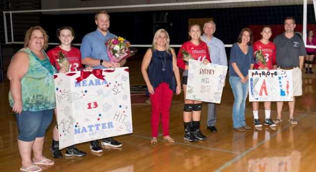 Region Champions! Powdersville High School Girls Varsity Volleyball beat Palmetto High School 3-0