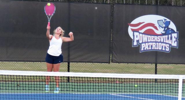 Playoff Round 1 Win! Powdersville High School Girls Varsity Tennis beat Chester High School 7-0