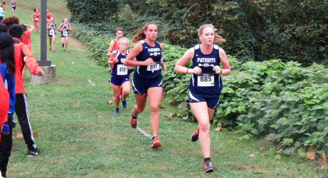 Powdersville High School Girls Varsity Cross Country finishes 3rd place in Region