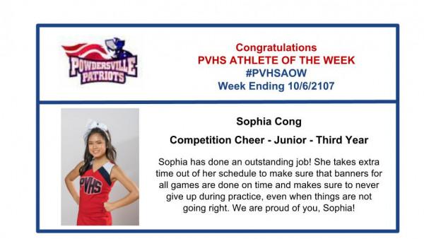 Sophia Cong