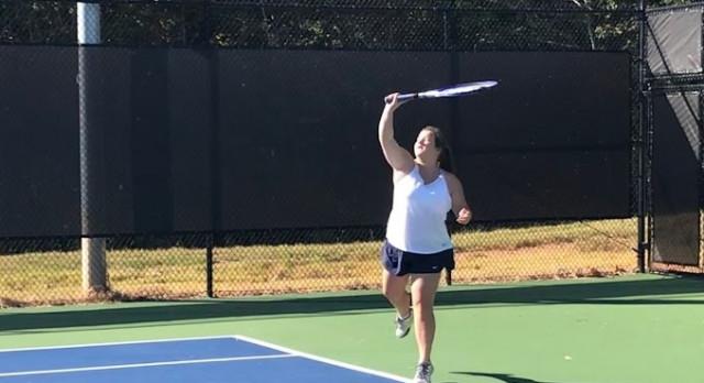 Powdersville High School Girls Varsity Tennis beat Berea High School 7-0