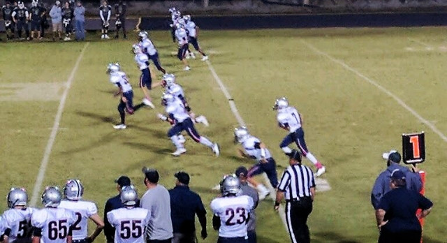 Powdersville High School Junior Varsity Football beat Berea High School 35-12