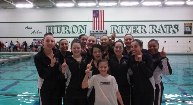 Synchronized Swimming Wins State Championship!