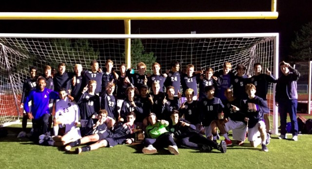 District Soccer Champs!