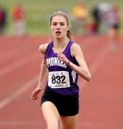 Anne Forsyth – Girl's Track Athlete of the Week
