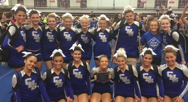 Saint Joseph Central High School Coed Varsity Sideline Cheer finishes 2nd place