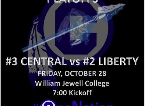 Class 5 FB Playoffs: #3 CENTRAL vs #2 LIBERTY