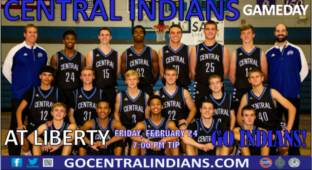 INDIANS SHOOT FOR #20 AT LIBERTY