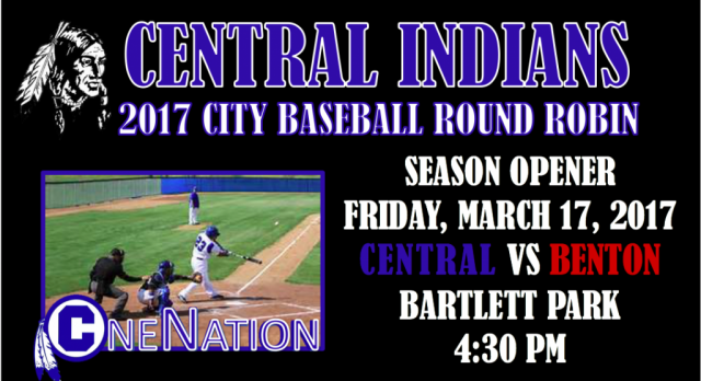 OPENING DAY FOR CENTRAL BASEBALL