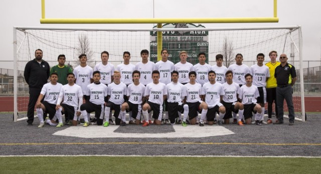 Provo High School Boys Varsity Soccer beat Orem High School 2-1 to win Region Title