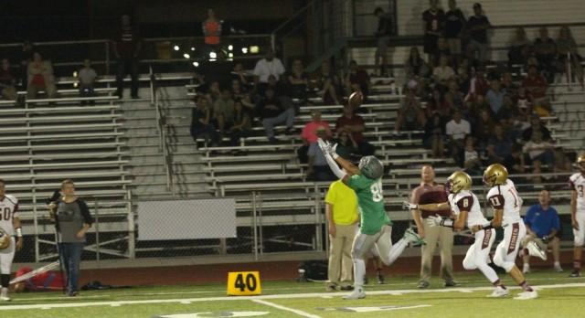 Provo High School Varsity Football beat Cedar City High School 35-21