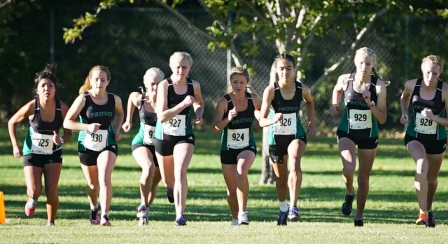 Provo High School Girls Varsity Cross Country finishes 7th place