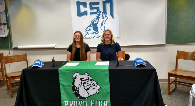 Two Lady Bulldogs Sign with CSN