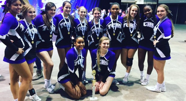 TC Cheer Team Places 4th