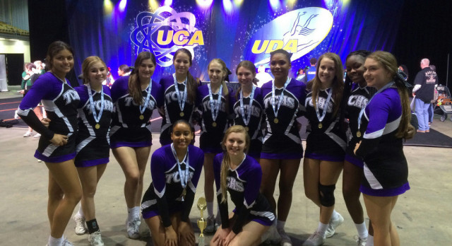 TC Girls Cheer Team Ready to Compete at Regionals