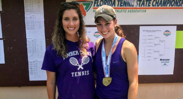 Tennis Spotlight: Alana Wolfberg, Back to Back Tennis State Champion