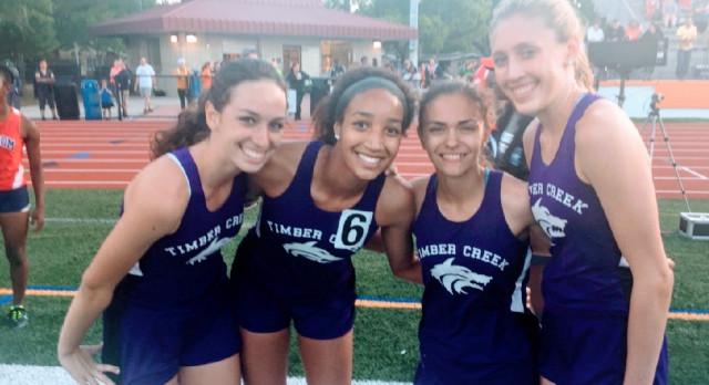 Girls TC Track Advance to Regionals