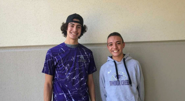 Boys Volleyball Spotlight: Kyle Thompson and Ethan Morales