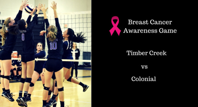 "TC Volleyball: ""Pink Out"" Game"